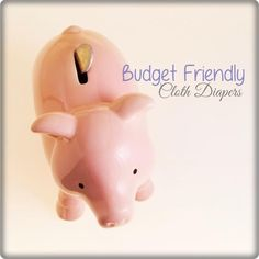 5 budget friendly cloth diapers #clothdiapers