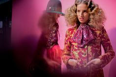 Petra Collins on Walking in Gucci's Fall Show—And How Those Fuzzy Red Curls Became Her Signature