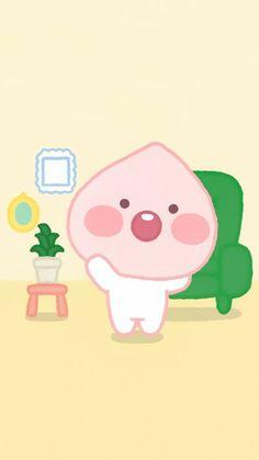 Cartoon Wallpaper, Iphone Wallpaper Kawaii, Apeach Kakao, Best Quotes Wallpapers, Anime Boy Zeichnung, Korean Stickers, Kakao Friends, Cute Easy Drawings, Line Friends