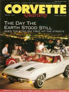 Ivanhoe162 on Ecrater-The Great Ebay Alternative: Corvette Quarterly Magazine Spring 1992 The day th...