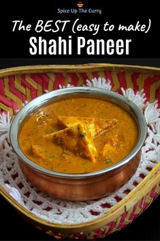 this straightforward to make shahi paneer recipe is restaurant fashion model. You already know home made is the BEST. This is among the well-liked Indian meals the place cottage cheese (paneer) cubes are simmered Indian Paneer Recipes, North Indian Recipes, Indian Dessert Recipes, Easy Paneer Recipes, Punjabi Recipes, Veg Recipes, Curry Recipes, Vegetarian Recipes, Cooking Recipes