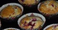 Recipe Coconut & Raspberry Muffins by learn to make this recipe easily in your kitchen machine and discover other Thermomix recipes in Baking - sweet. Coconut Icing, Raspberry Muffins, Kitchen Machine, 5 Recipe, Melted Butter, Skewers, Sweet Recipes, Vegetarian, Baking