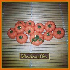 #polymerclay #pumpkins #pumpkin #halloween - #zucche #zucca in #fimo