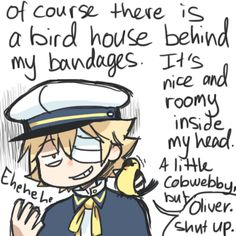 oliver vocaloid   Ahaha, it's not possible, don't worry))
