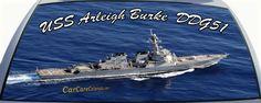 USS Arleigh Burke is DDG51 US Navy Destroyer