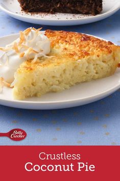 Impossibly Easy Coconut Pie - List of the best food recipes Clean Eating Recipes For Dinner, Clean Eating Snacks, Healthy Eating, Eating Habits, Healthy Food, Dinner Recipes, Clean Foods, Healthy Chicken, Easy Desserts