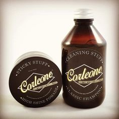 Corleone Sticky Stuff Pomade & Cleaning Stuff Shampoo - The Greaser and the Doll webshop
