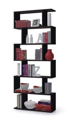 biblioteca - estantes- repisas - modular minimalista