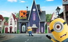 Despicable Me Minion Mayhem - Universal Studios Hollywood