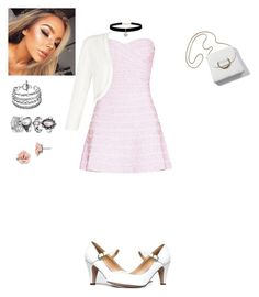 """""""Take me away...."""" by ghoul1010 ❤ liked on Polyvore featuring Hervé Léger, J. Adams, Betsey Johnson, 1928 and Monsoon"""