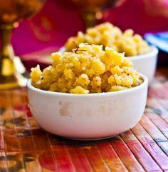 Moong Dal Halwa ( Lentil Pudding) | Manjari's Vegetarian Cooking ...