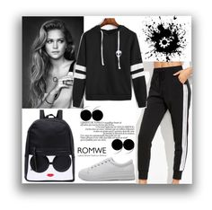 """#7 Romwe"" by munira-salihovic ❤ liked on Polyvore"