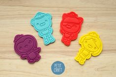 Octonauts: Cookie Cutters and Embossers, Cake and Fondant Decorates Octonauts Party, National Holidays, Kids Events, Childrens Party, Craft, Cookie Cutters, Biodegradable Products, Fondant, 3d Printing