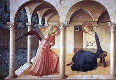 フラ・アンジェリコ(1395年頃-1455年)の『受胎告知』
