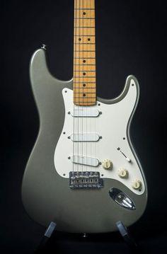 Fender Eric Clapton Signature Stratocaster 1989 Pewter   Reverb