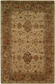 EM291, Beige, Hand Tufted, Kalaty Rug Co. available from rugsdoneright.com