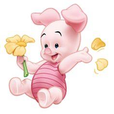 Imagenes de Piglet - amigos de pooh baby - piglet cerdito bebe