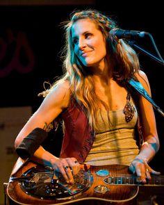 Dixie Chicks - Emily Robison plays dobro.