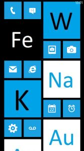 12 best windows phone home screens images on pinterest windows students nowadays looks at their phones dozens of time every day imagine if each periodic tablewindows urtaz Choice Image