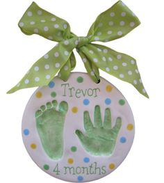 Baby handprints