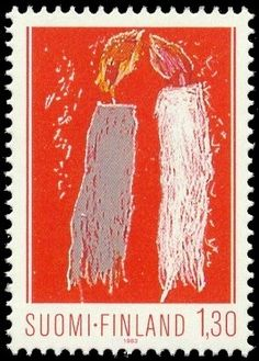 Joulumerkki 1983 2/2 - Kynttilät