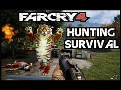 Far Cry 4 - Hunting Survival (Tigers Attack)  #farcry4 #twitch #tiger