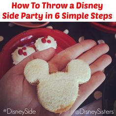 How To Throw The Perfect Disney Side Party in 6 Magical Steps