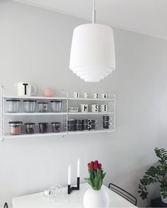 Happy Easter This lovely kitchen belongs to Rihla - Sessak design Interior Lighting, Home Lighting, Lighting Design, Scandinavian Lighting, Scandinavian Design, Traditional Lamps, Contemporary, Modern, Beautiful Homes