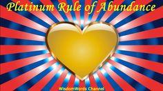 Abraham Hicks 2017 - Platinum Rule of Abundance