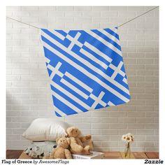 Flag of Greece Pramblanket