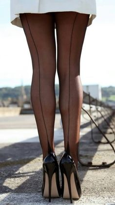 nylonlovergr: Find many more sexy nylons at. Stockings Heels, Nylons Heels, Black Stockings, Nylon Stockings, Black Nylons, Stockings Outfit, Beautiful High Heels, Sexy High Heels, High Heels Stilettos