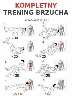 Image result for cwiczenia na brzuch