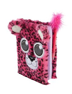 Plush Cheetah Diary | Journals & Writing | Beauty, Room & Tech | Shop Justice