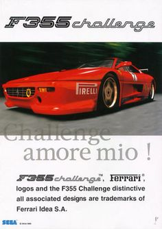 F355 Challenge - Dreamcast - got the Dreamcast for this game.