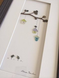 Pebble Art of Nova Scotia (Sharon Nowlan) - with seaglass