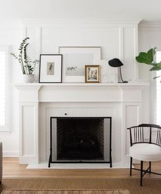 Simple Staging Ideas  #stagingideas  #interiordesign  #livingroom  #fireplace