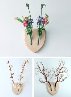 Wall Trophies for Plant Lovers  25 Gift Ideas for the Creative People in Your Life - My Modern Met