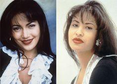 Actors Transformed Into Famous Musicians Selena Lopez, Jennifer Lopez Selena, Selena Quintanilla Perez, Selena Music, Jackson, Famous Musicians, Lip Sync, She Movie, Song One