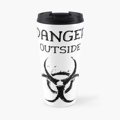 DANGER outside !! Get yourself a unique cool  custom desing from RIVEofficial Redbubble shop : )).... tags: #coronavirus #corona #COVID #disease #lockdown #danger #dangeroutside #stayhome #washhands #blackandwhite #corona2020 #keepcalm #isolation #findyourthing #shirtsonline #trends #riveofficial #favouriteshirts #art #style #design #shopping #redbubble #digitalart #design #fashion #phonecases #customproducts #onlineshopping #accessories #shoponline #onlinestore #shoppingonline Mug Designs, Home Decor Items, Travel Mug, Online Shopping, The Outsiders, Custom Design, Channel, Trends, Mugs
