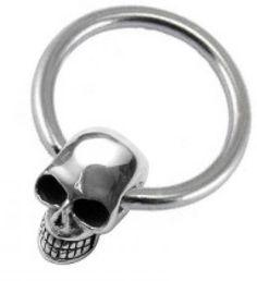 Skull Captive Bead Ring(s)