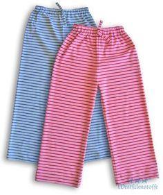 Freebook Pyjamahose / Schlafanzughose 104-140