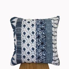 Colección Denim, funda de cojín 100% algodón.