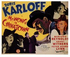 Mr. Wong in Chinatown    1939.