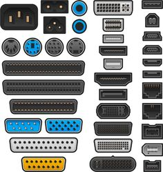Find out what ports are and what they do. Computer Hard Drive, Computer Case, Radio Wave, Serial Port, Audio In, Disk Drive, Garage Design, Computer Hardware, Desktop Computers