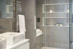 Master En-suite shower & Steam room -Designed by JHR Interiors