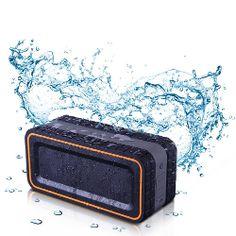 Turcom Acoustoshock 30 Watt Rugged Water Resistant Wireless Bluetooth Speaker Shockproof Dirtproof And Dustproof With Latest 40
