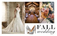 """Fall wedding #5"" by thepreppycowgirl ❤ liked on Polyvore featuring Badgley Mischka and fallwedding"