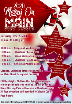 Christmas in Port Lavaca, TX Port Lavaca, Cocoa Cookies, Local Events, Treats, Holiday Decor, Christmas, Sweet Like Candy, Xmas, Goodies