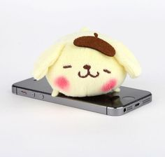 #Purin cell phone cleaner asleep on the job!