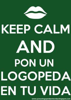 Pon un #logopeda en tu vida =))